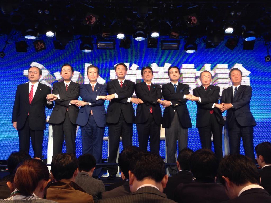 8党首が「ネット党首討論」アベノミクスの成果めぐり応酬