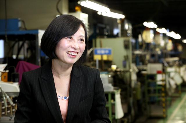 多様な人材、会社を変えた メーカー社長、西岡慶子さん