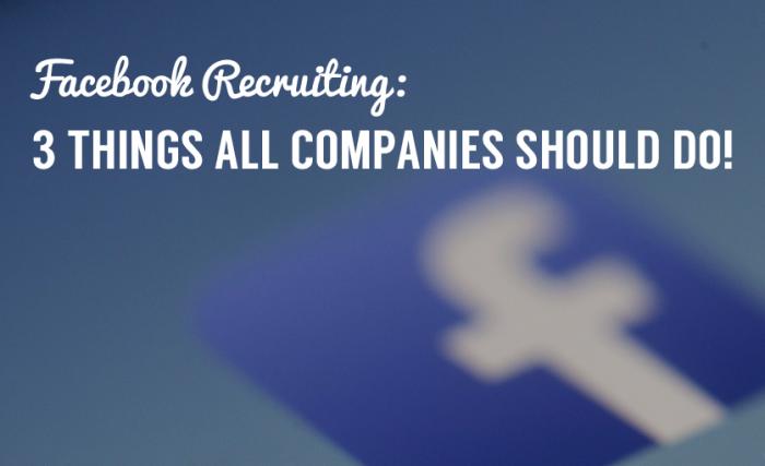 【カナダ】Facebookの採用活動ですべき3つの事