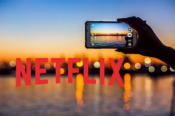 Netflix 夢の仕事を提供