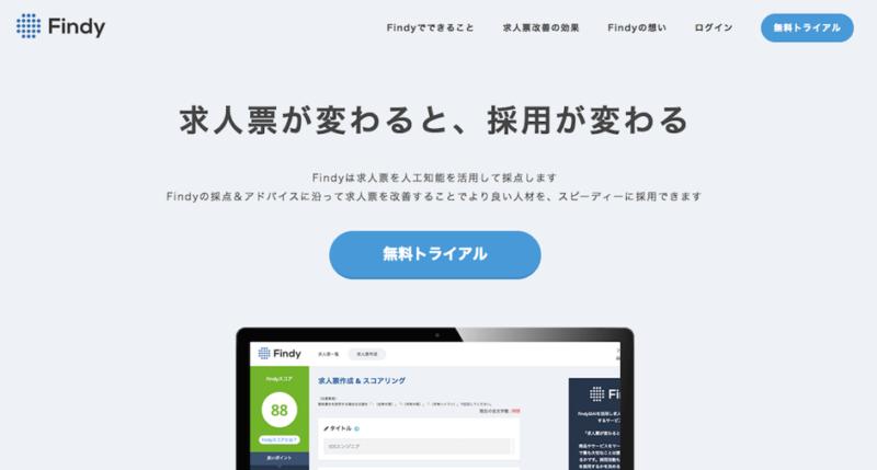AI求人票採点サービス「Findy(ファインディ)」リリースの想い | ベンチャーで新規事業担当@渋谷