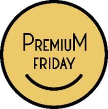 ~来年2月から、月末金曜日に「特別なコト・時間を楽しむ日」が新たに誕生~ 働き方改革とも連動し、生活の豊かさ・幸せにつなげる「プレミアムフライデー」ロゴマーク申請登録開始のお知らせ