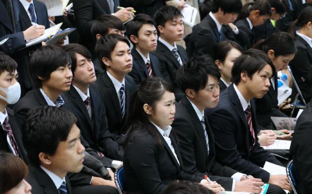 大卒内定率、前年上回る14.8% 企業の選考活動加速