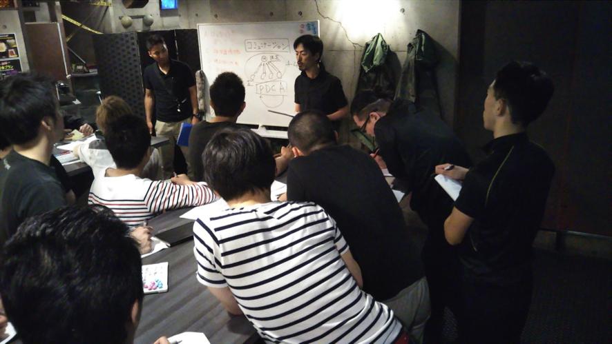 日本企業のコミュニケーションを変える!!元自衛隊幹部による演習型コミュニケーション研修を開催!!