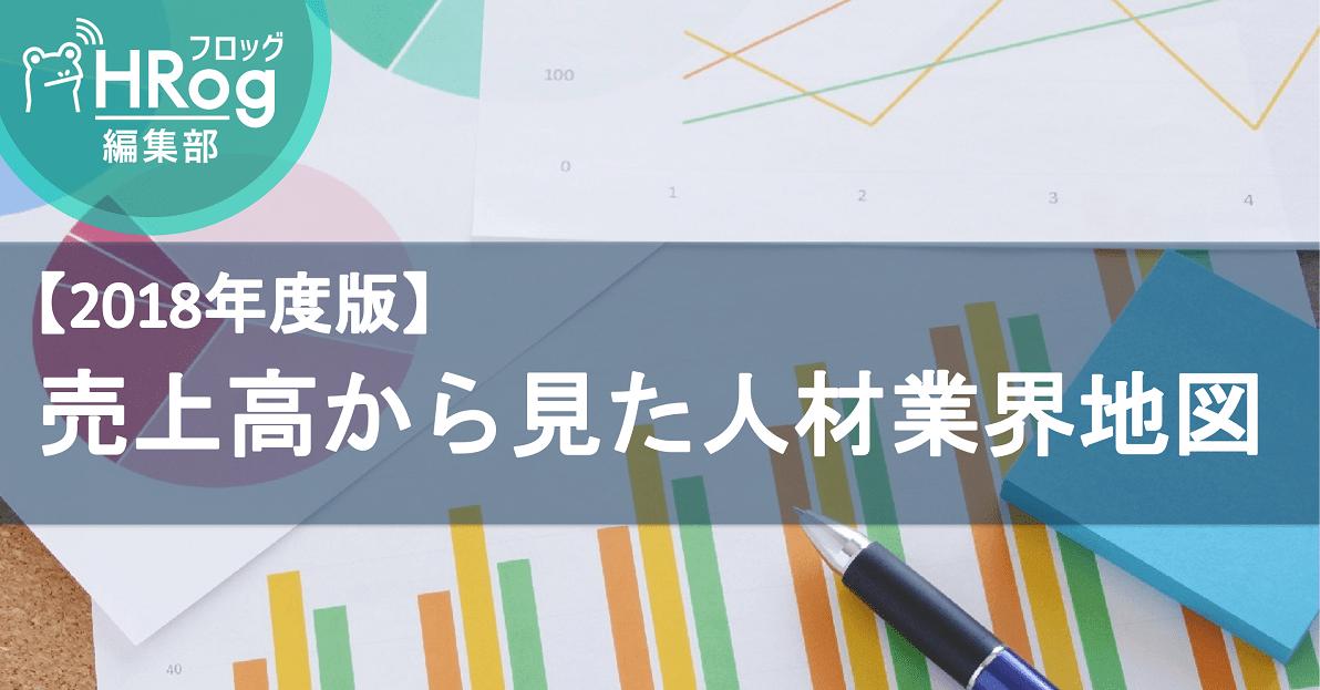 【2018年度版】売上高から見た人材業界地図