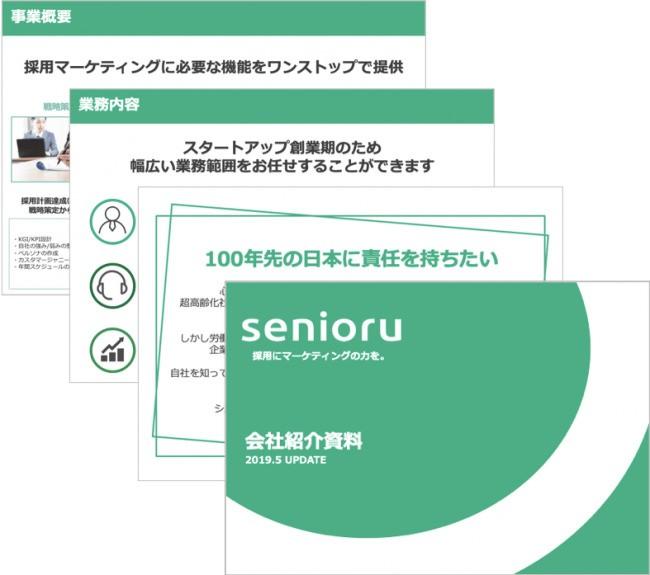 採用マーケティング支援のシニアル、採用ピッチ資料を活かした採用広報プランを提供開始