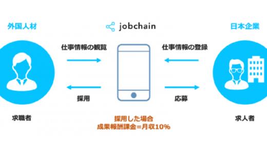 外国人材を直接採用できるチャットアプリ「jobchain」を提供開始。地方・中小企業の人手不足の需求に応える