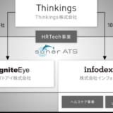 イグナイトアイとインフォデックス、経営統合しHRTech事業を強化 Thinkings株式会社を設立