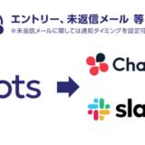 採用管理システム「採用一括かんりくん」がSlack・Chatworkと連携開始