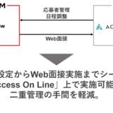 インタビューメーカーがマイナビ提供の「ACCESS ON LINE」シリーズと連携開始