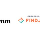 株式会社Timers、株式会社ミクシィ・リクルートメント提供の求人情報サイト「FINDJOB!」と提携開始