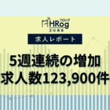 【2021年7月第3週 正社員系媒体 求人掲載件数レポート】5週連続の増加、求人数123,900件